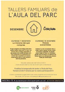 TALLERS FAMILIARS DE AULA DEL PARC